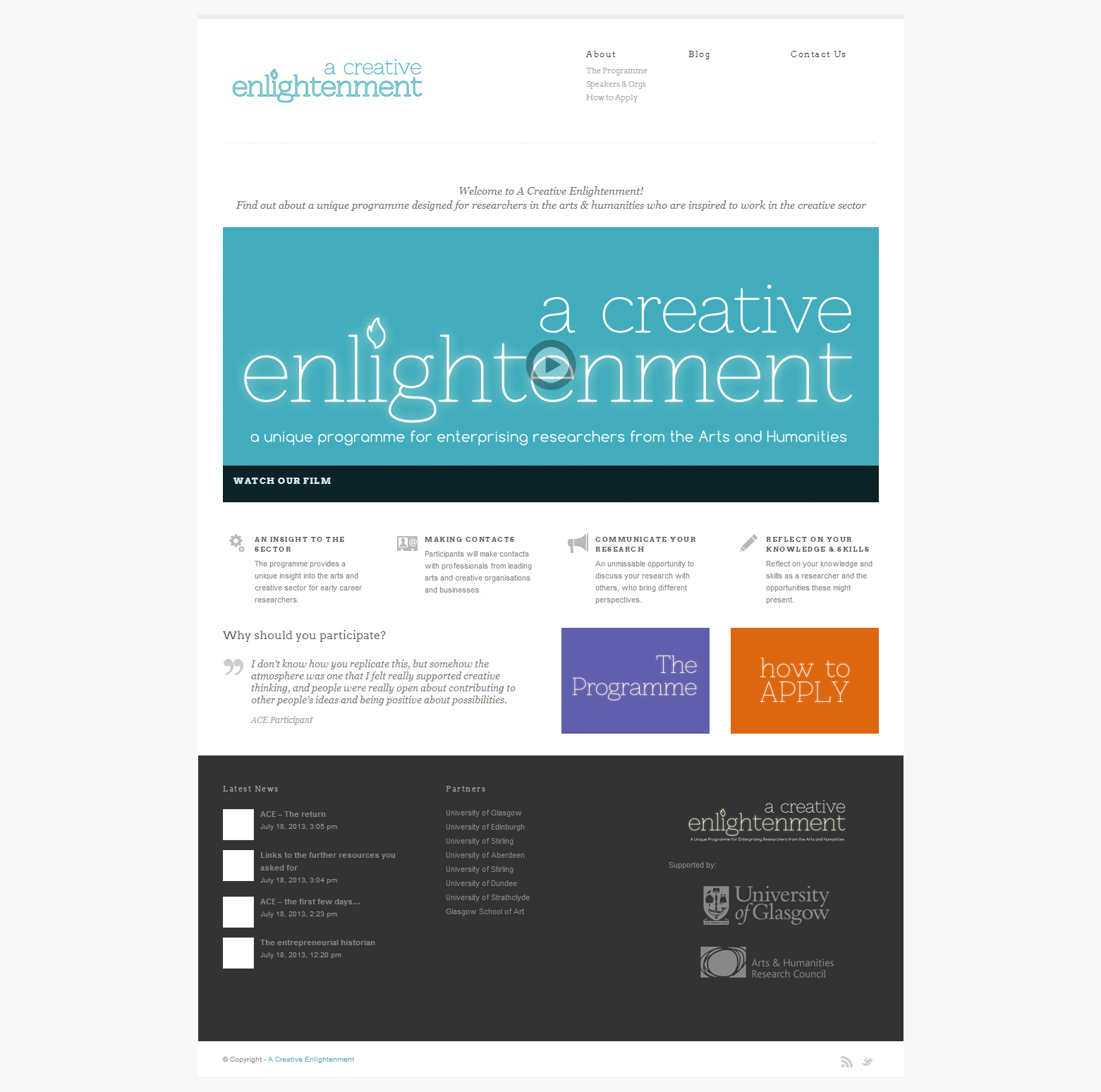 A Creative Enlightenment   Just another WordPress site