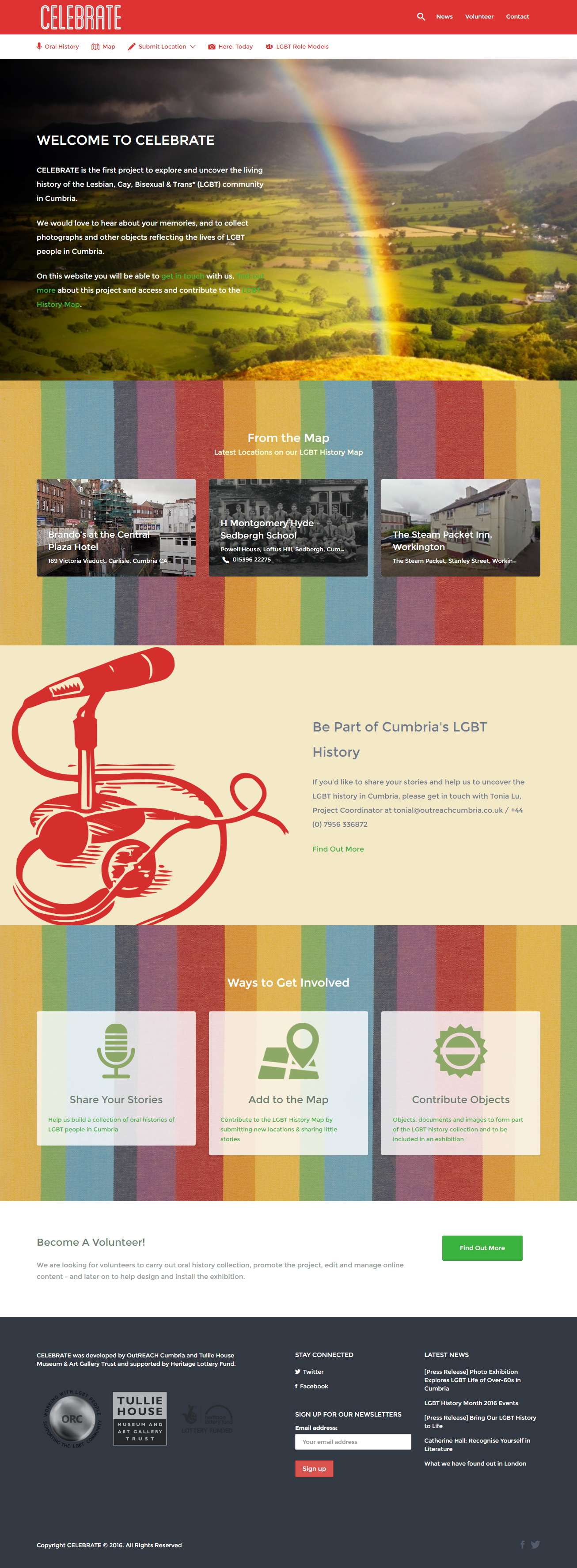 CELEBRATE  LGBT History in Cumbria