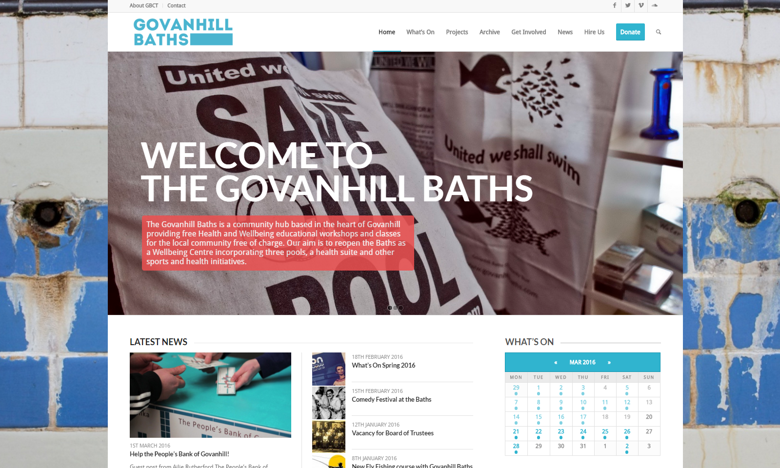 Govanhill Baths   A community hub based in the heart of Govanhill