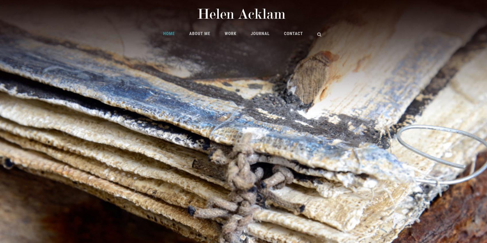Helen Acklam   Artist