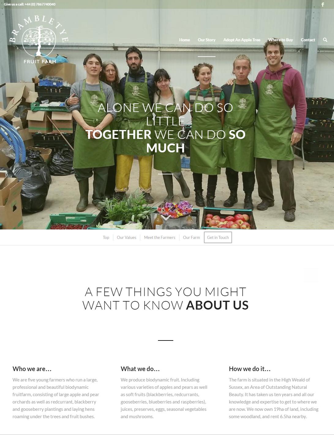 Our Story   Brambletye Fruit Farm