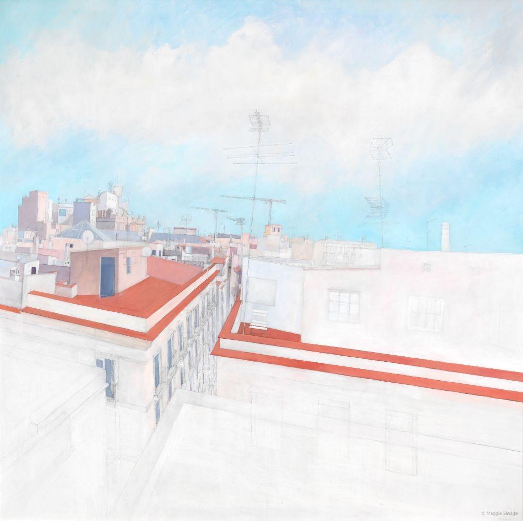 Roofscape-above-Calle-de-Princesa