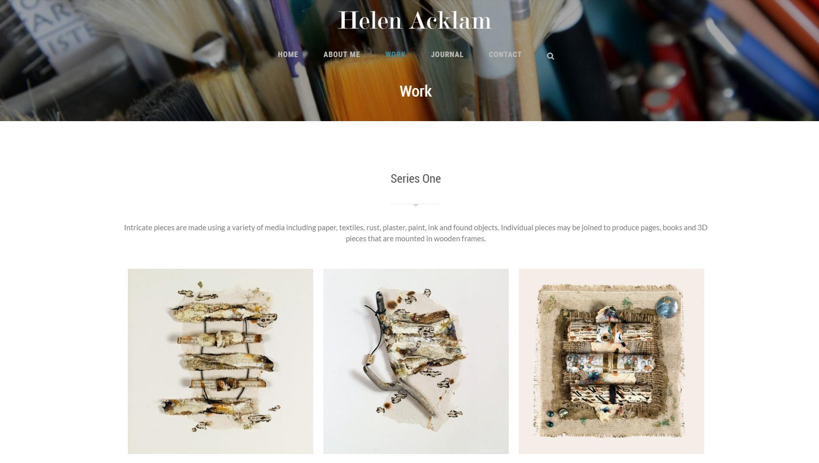 Work   Helen Acklam